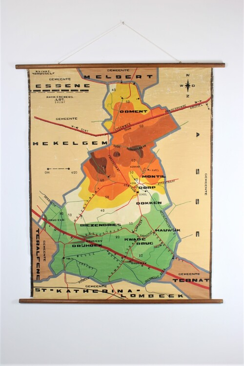 thumbnails bij product Old school map of Essene