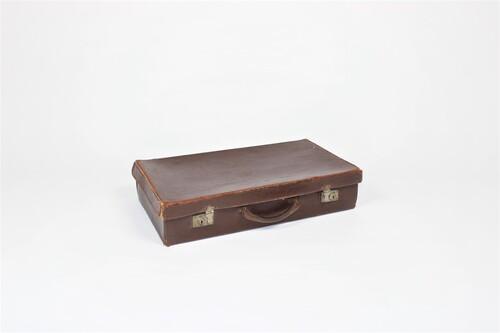 thumbnails bij product Vintage lederen valies