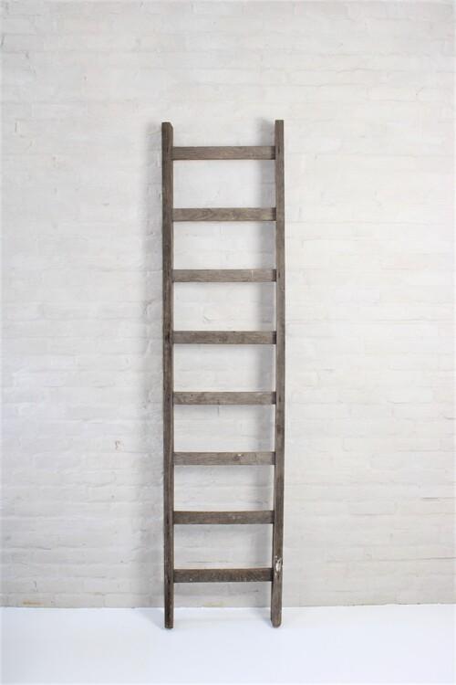 thumbnails bij product short wooden ladder