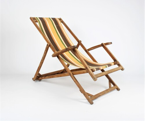 thumbnails bij product vintage deck chair by Torck