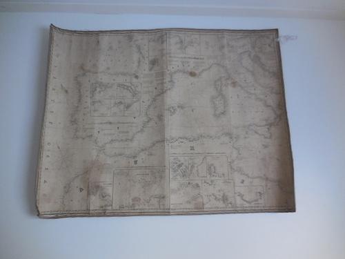 thumbnails bij product zeekaart Middellandse zee van 1853