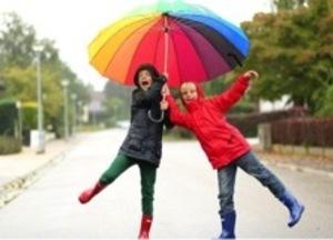 Samen onder de paraplu