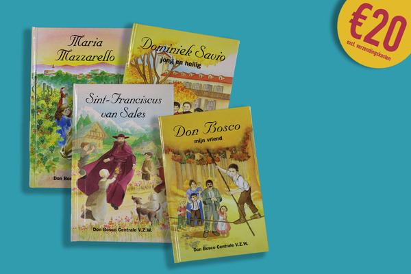 Afbeelding bij Reeks van vier boekjes
