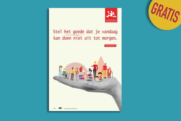 Afbeelding bij Posters Avondwoordjes