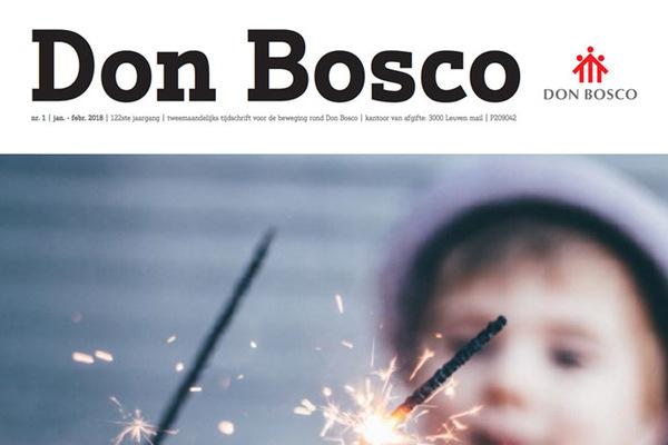 Afbeelding bij Don Bosco Vlaanderen Januari/Februari 2018
