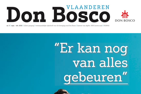 Afbeelding bij Don Bosco Vlaanderen september/oktober