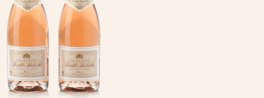 Roualet-Desbordes Champagne Brut Rosé, Champagne AOC, Champagne, France
