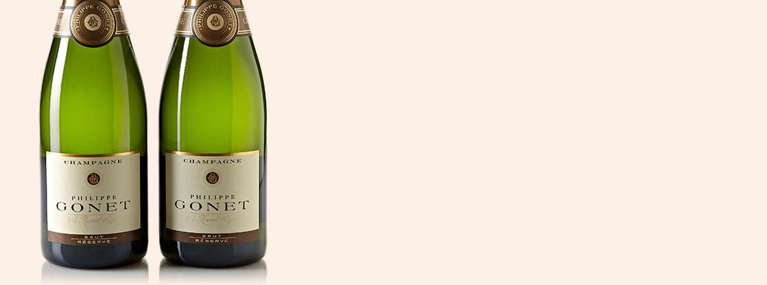 Philippe Gonet Brut Réserve, Champagne AOC, Champagne, France