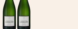 Extra Brut 1er Cru Blanc de Noirs, Lombard, Champagne AOC, Champagne, Frankrijk