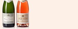 Pack Roualet-Desbordes : Brut et Brut Rosé, Champagne AOC, Champagne, France