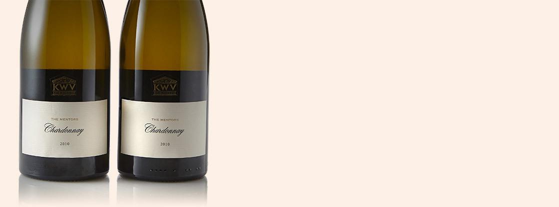 2010 The Mentors, Chardonnay, KWV, Paarl, Le Cap, Afrique du Sud