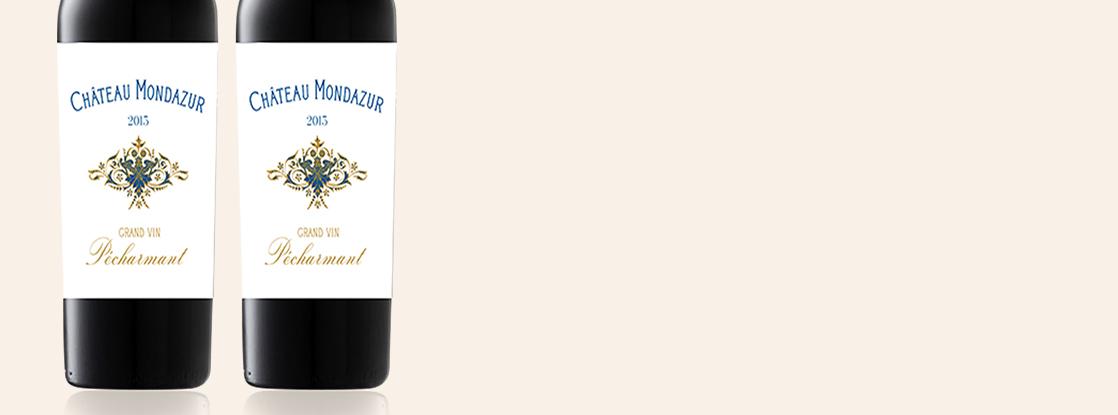 2015 Grand vin, Château Mondazur, Pécharmant AOC, South-West France, France