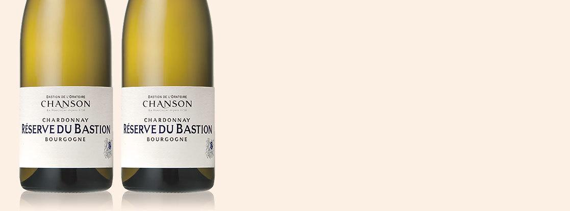 2017 Réserve du Bastion Chardonnay, Domaine Chanson, Bourgogne AOC, Bourgogne, Frankrijk