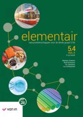 B-BOEK: Elementair natuurwetenschappen voor de derde graad STW 5.4 (DEEL 2) 4 uur/week