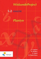 B-BOEK WiskundeProject Plantyn 5.2 Analyse