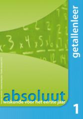 Absoluut 1 getallenleer wiskunde voor het eerste jaar