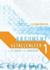 Argument 1 getallenleer leerwerkboek