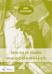 Ars legendi Sine ira et studio Woordenlijst