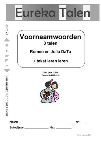 Eureka Talen Voornaamwoorden 3 Talen Romeo En Julia Data