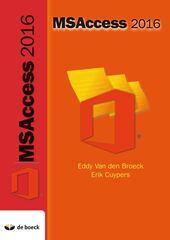 B-BOEK: MS Acces 2016