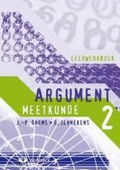 Argument 2 - meetkunde - leerwerkboek