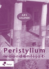 Ars legendi Peristylium woordenlijst