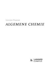 Algemene chemie 2de druk