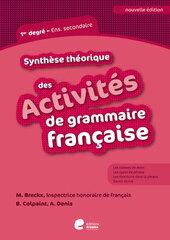 Activités de grammaire française 1