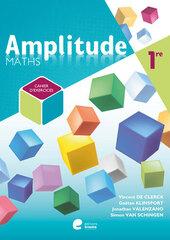 Amplitude Maths 1 - Cahier d