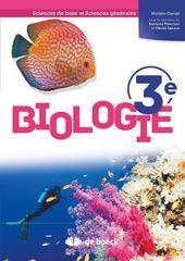 Biologie- Sciences de base et sciences générales 3
