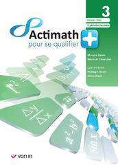 Actimath pour se qualifier + 3 Manuel (4 p/sem) réseau libre