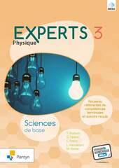 Experts Physique 3 - Livre-cahier - Sciences de base