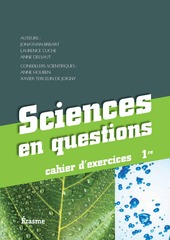 Sciences en questions 1 - Cahier d