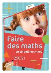 Faire des maths en cinquième année