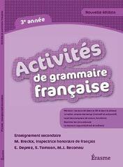 Activités de grammaire française 3