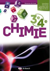 Chimie 3e/4e - Sciences de base 3