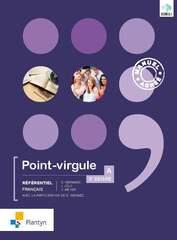 Point virgule A 3e degré Référentiel