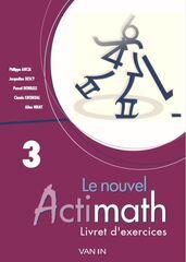 Le nouvel actimath - livre d