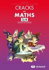 Cracks en maths 3-4 - Manuel de fixation
