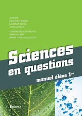 Sciences en questions - manuel 1