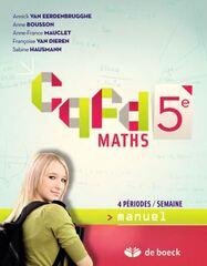 CQFD 5 - 4 périodes/semaine - Manuel
