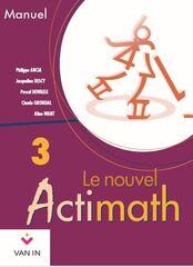 Le nouvel actimath - manuel 3