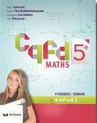 CQFD Maths (6 périodes/semaine) 5