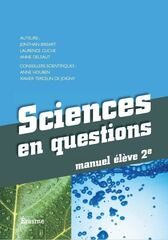 Sciences en questions - manuel 2