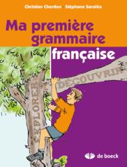 Ma première grammaire française 5