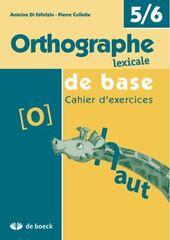 Orthographe lexicale de base (Edition 2009) 6