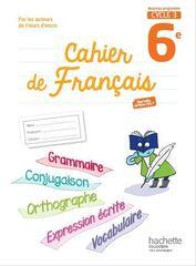 cahier de français 1