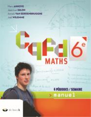 CQFD Maths (6 périodes/semaine) - Edition 2019 6