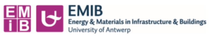 logo Universiteit Antwerpen - onderzoeksgroep EMIB