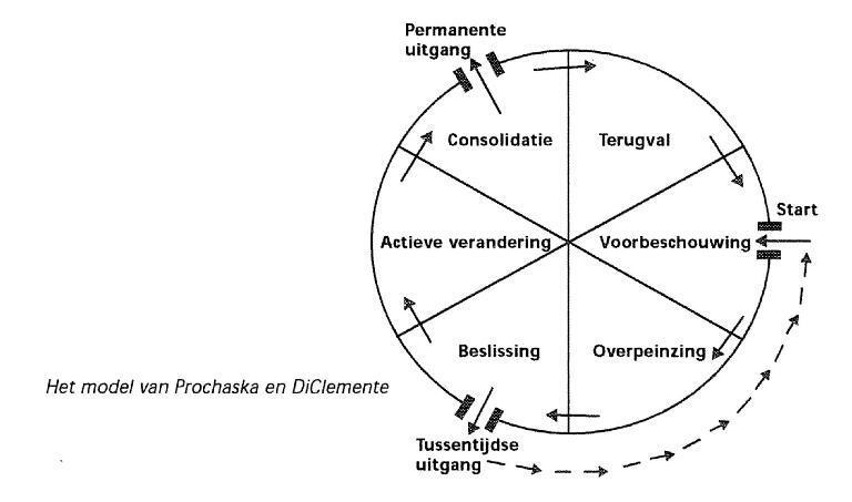 Transtheoretisch model van Prochaska en DiClemente